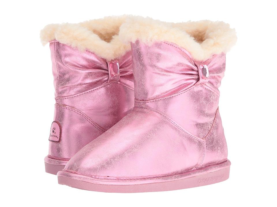 Bearpaw Kids Robyn (Little Kid/Big Kid) (Pink) Girls Shoes