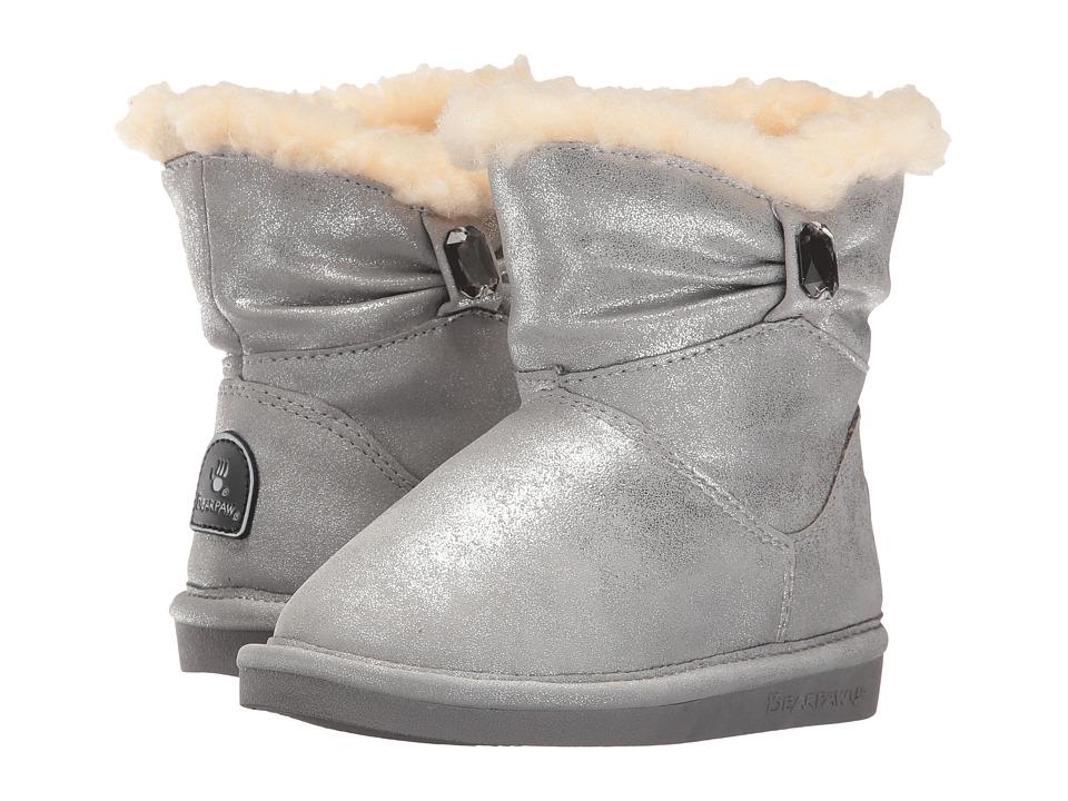 Bearpaw Kids - Robyn (Toddler/Little Kid) (Pewter) Girls Shoes