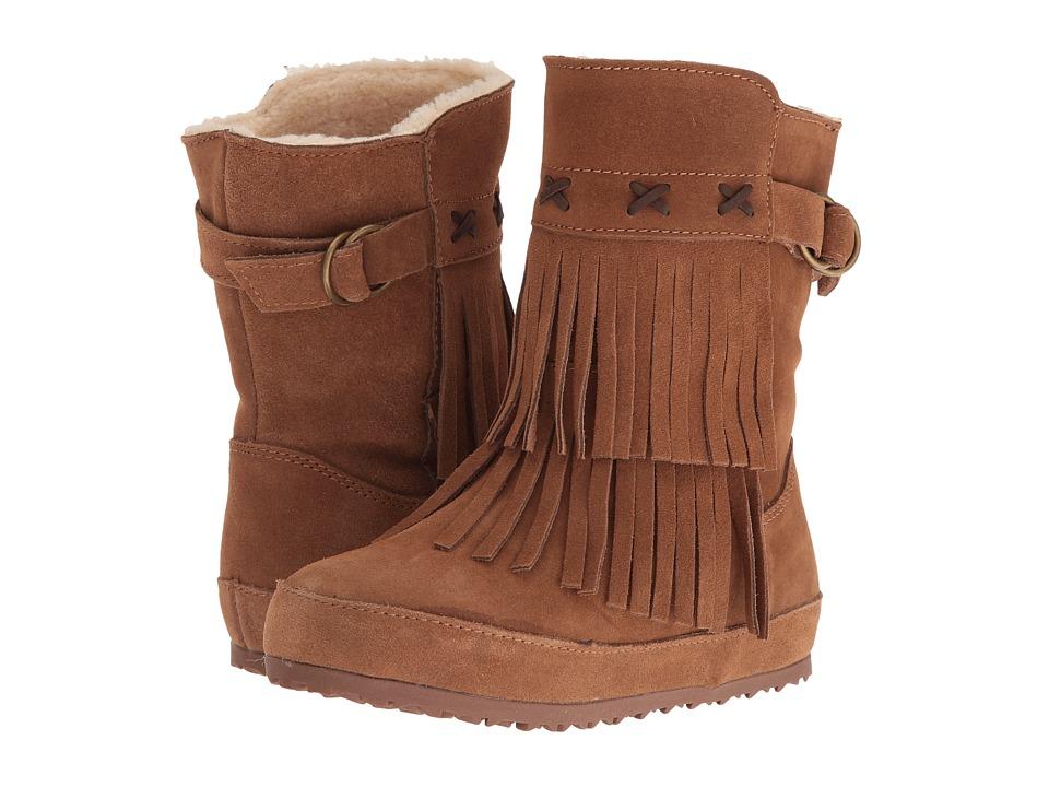 Bearpaw Kids Krystal (Little Kid/Big Kid) (Hickory) Girls Shoes