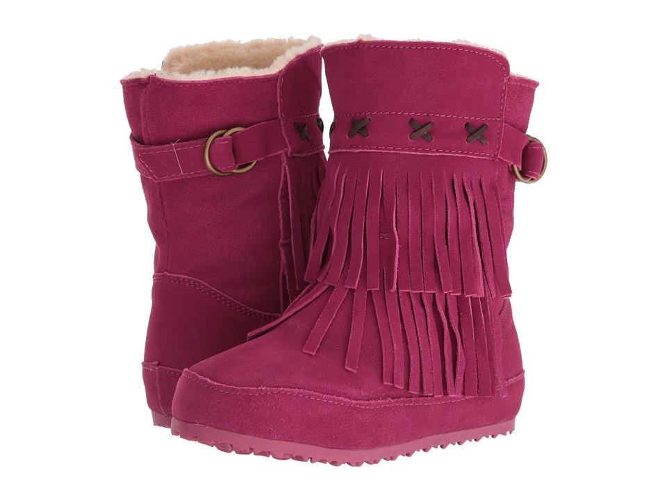 Bearpaw Kids Krystal (Little Kid/Big Kid) (Pomberry) Girls Shoes
