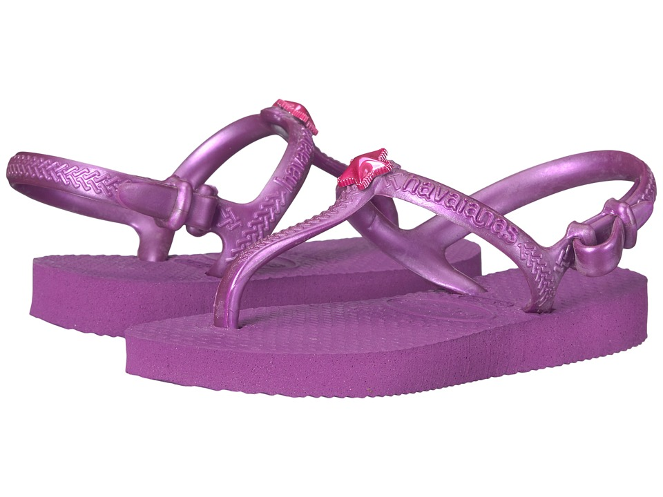 Havaianas Kids - Freedom Sandals (Toddler/Little Kid/Big Kid) (Royal Purple) Girls Shoes