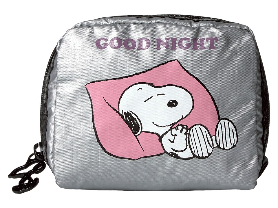 LeSportsac - Square Cosmetic (Snoopy Goodnight) Cosmetic Case
