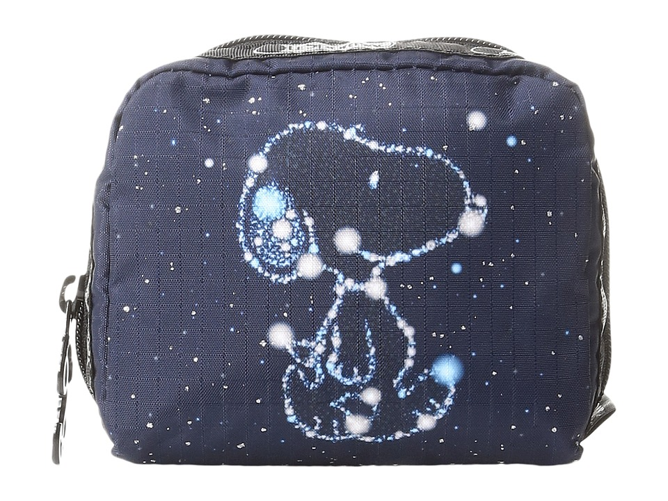 LeSportsac - Square Cosmetic (Snoopy Stars Small) Cosmetic Case