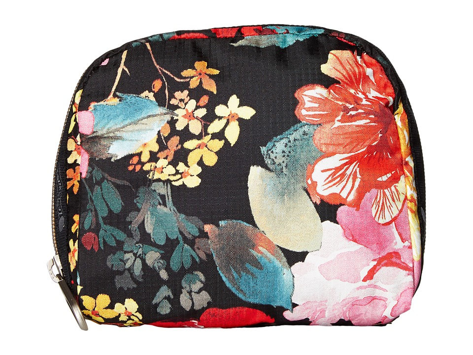 LeSportsac - SQ Essential Cosmetic Case (Romantics Black) Cosmetic Case