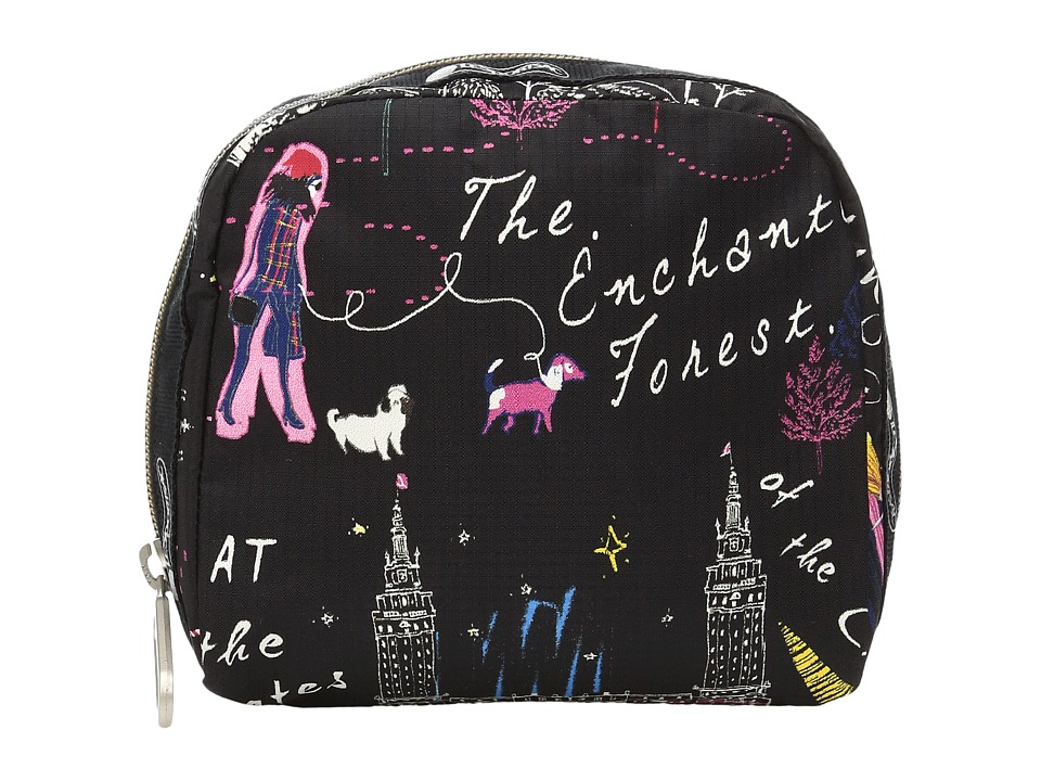 LeSportsac - SQ Essential Cosmetic Case (Wonderland) Cosmetic Case