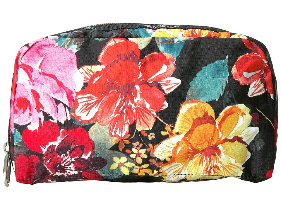 LeSportsac - Essential Cosmetic Case (Romantics Black) Cosmetic Case