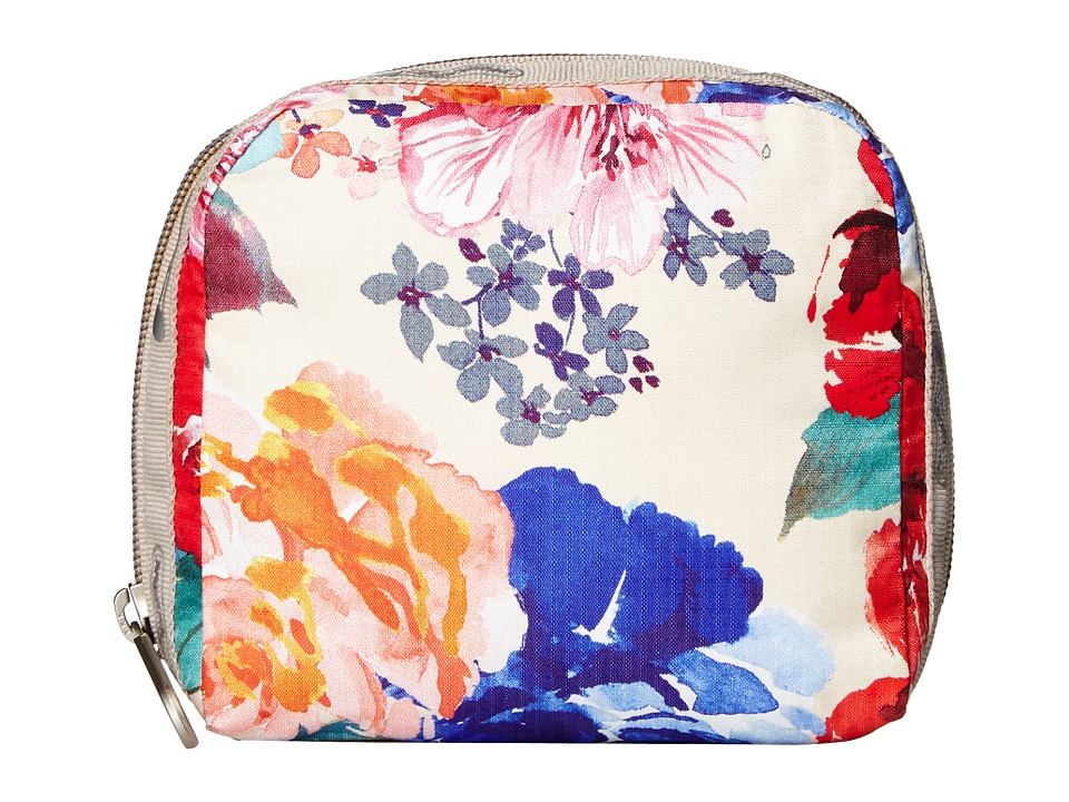 LeSportsac - SQ Essential Cosmetic Case (Romantics Cream) Cosmetic Case