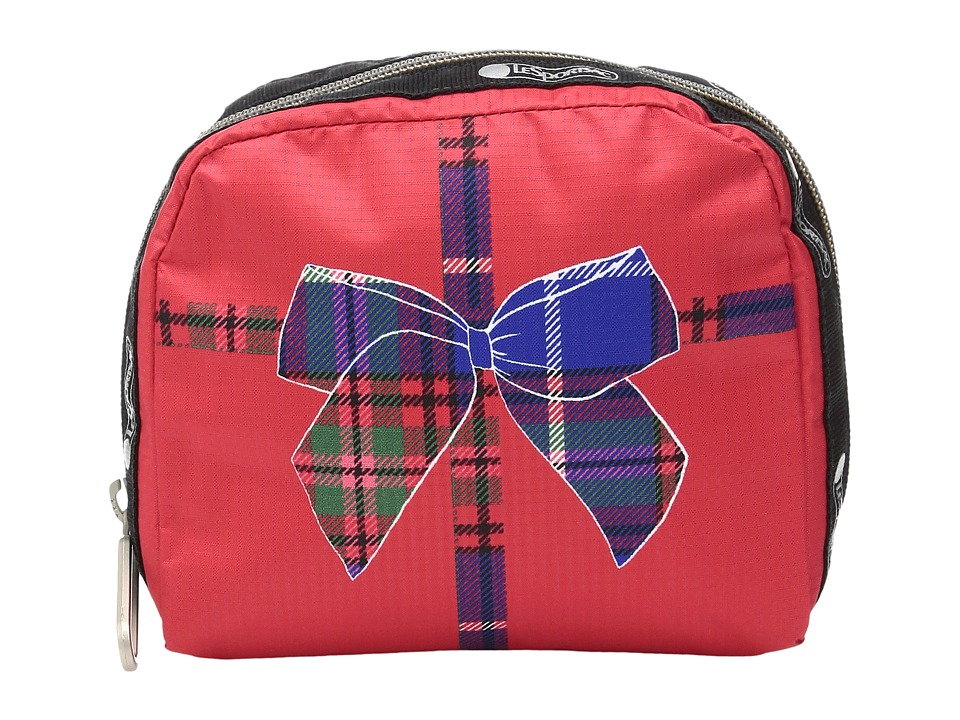 LeSportsac SQ Essential Cosmetic Case (Mini Present) Cosmetic Case