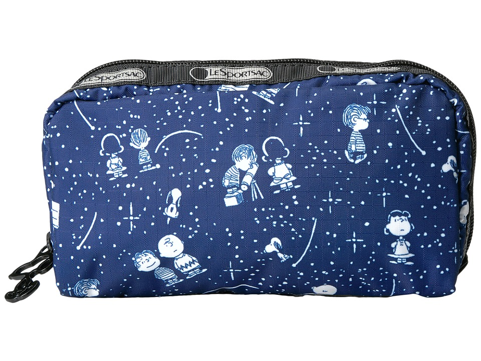 LeSportsac - Rectangular Cosmetic (Snoopy Stargazer) Clutch Handbags