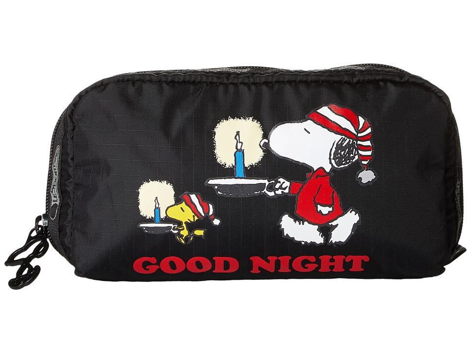LeSportsac - Rectangular Cosmetic (Snoopy Sleepover) Clutch Handbags