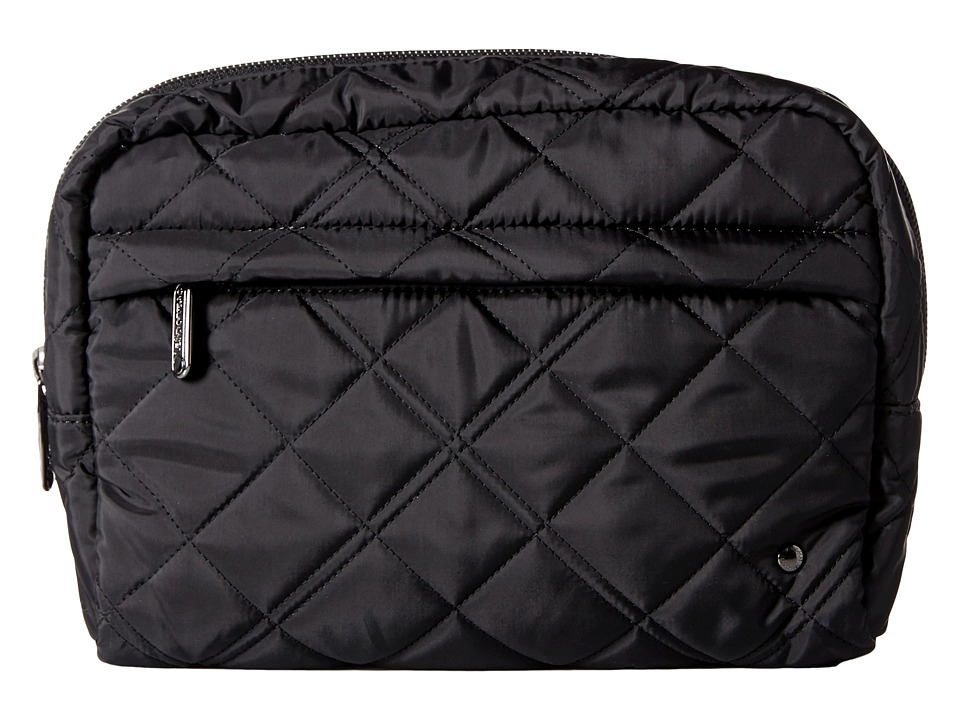 LeSportsac - City Large Central Cosmetic (Phantom Black Quilted) Cosmetic Case