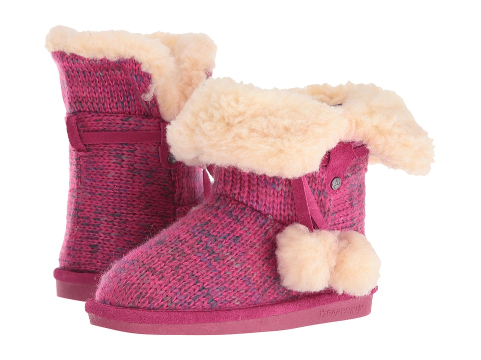 Bearpaw Kids - Mary (Little Kid/Big Kid) (Pomberry) Girls Shoes