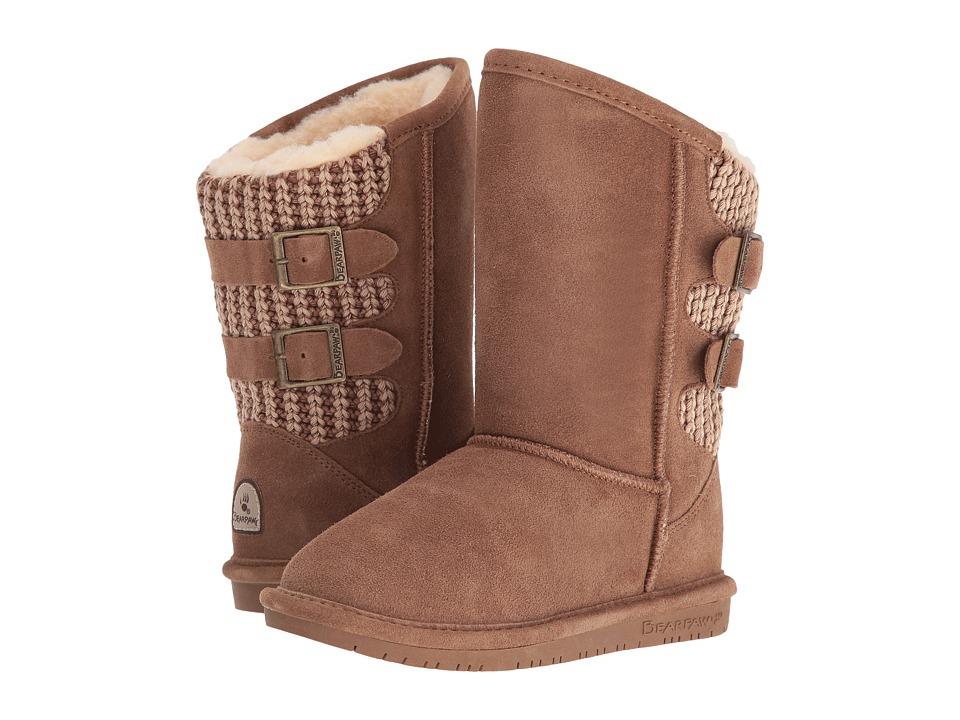 Bearpaw Kids - Boshie (Little Kid/Big Kid) (Hickory) Girls Shoes