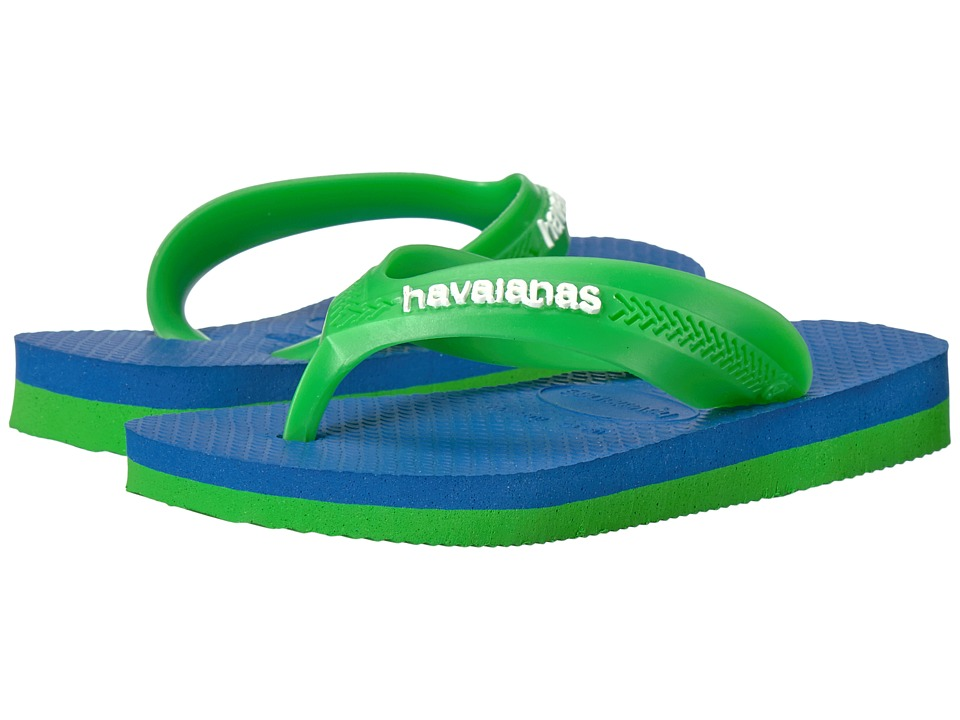 Havaianas Kids - Max (Toddler/Little Kid/Big Kid) (Blue Star) Boys Shoes
