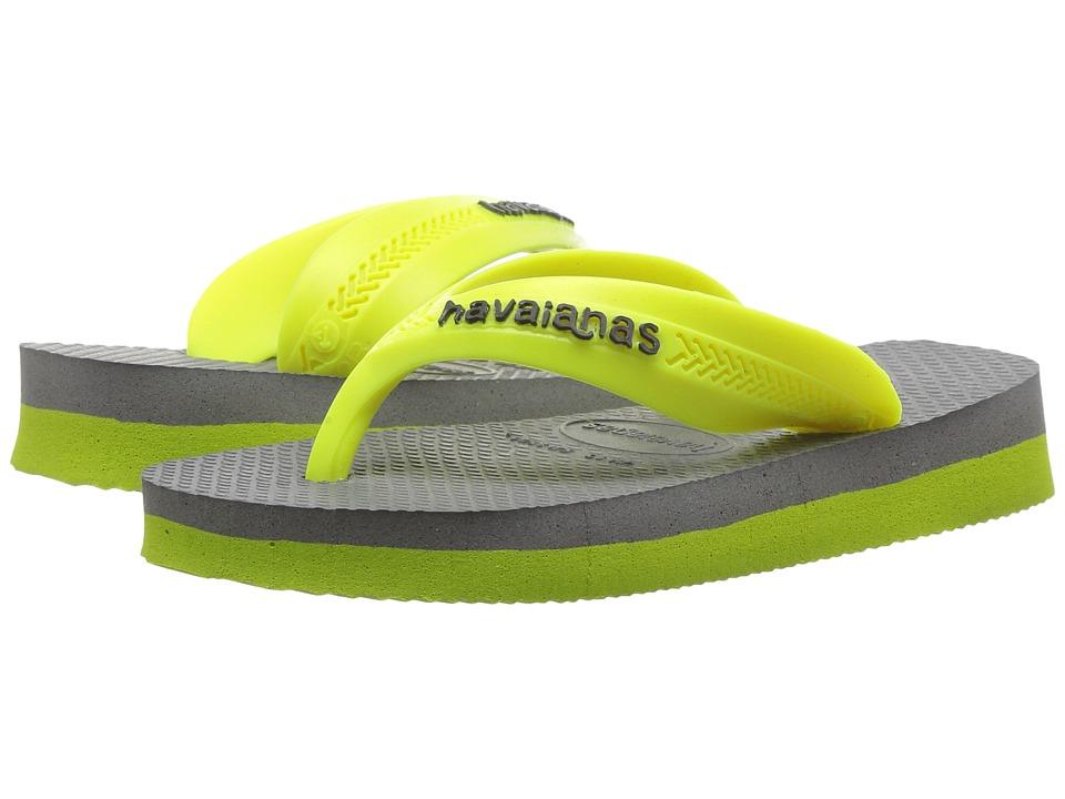 Havaianas Kids - Max (Toddler/Little Kid/Big Kid) (Steel Grey) Boys Shoes