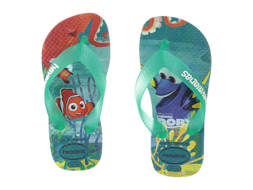 Havaianas Kids - Nemo and Dory Sandals (Toddler/Little Kid/Big Kid) (Ice Blue) Boys Shoes