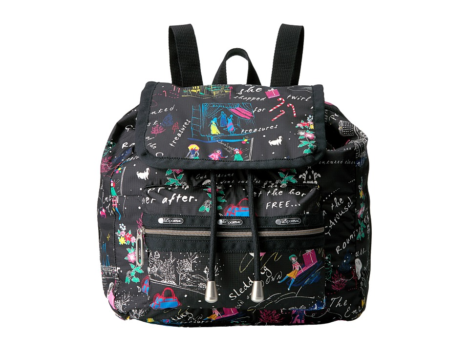 LeSportsac - Mini Voyager (Wonderland) Handbags