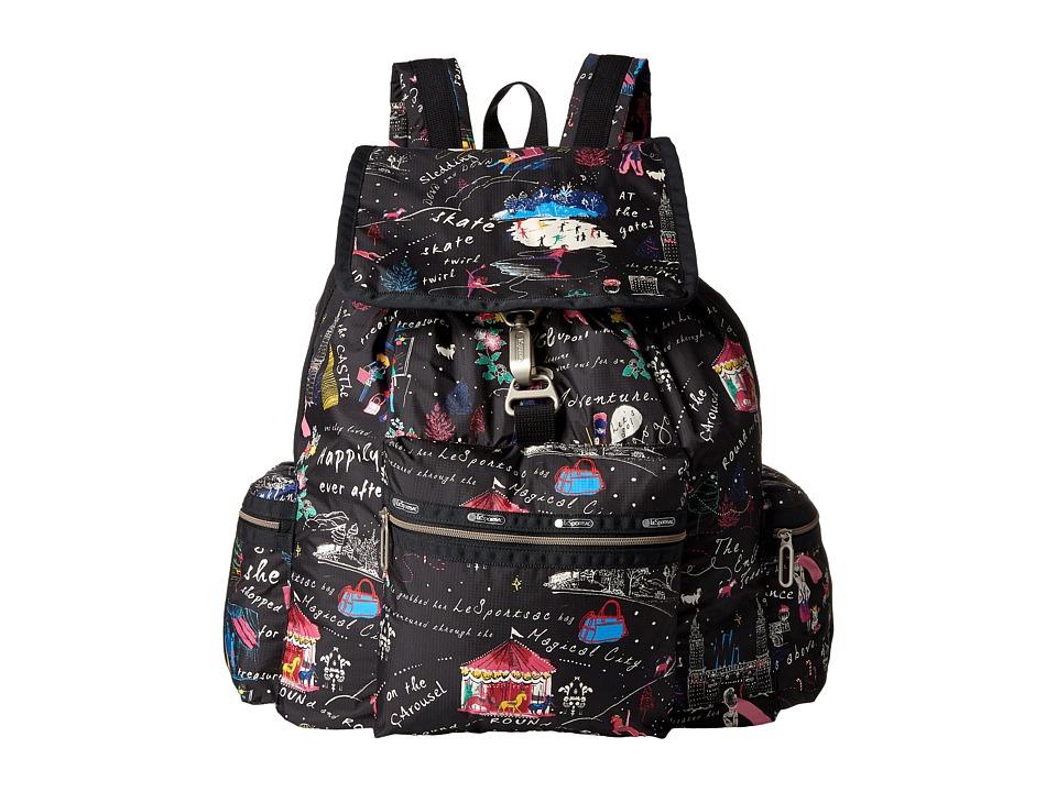 LeSportsac - 3 Zip Voyager (Wonderland) Bags