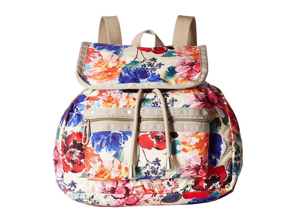 LeSportsac - Mini Voyager (Romantics Cream) Handbags