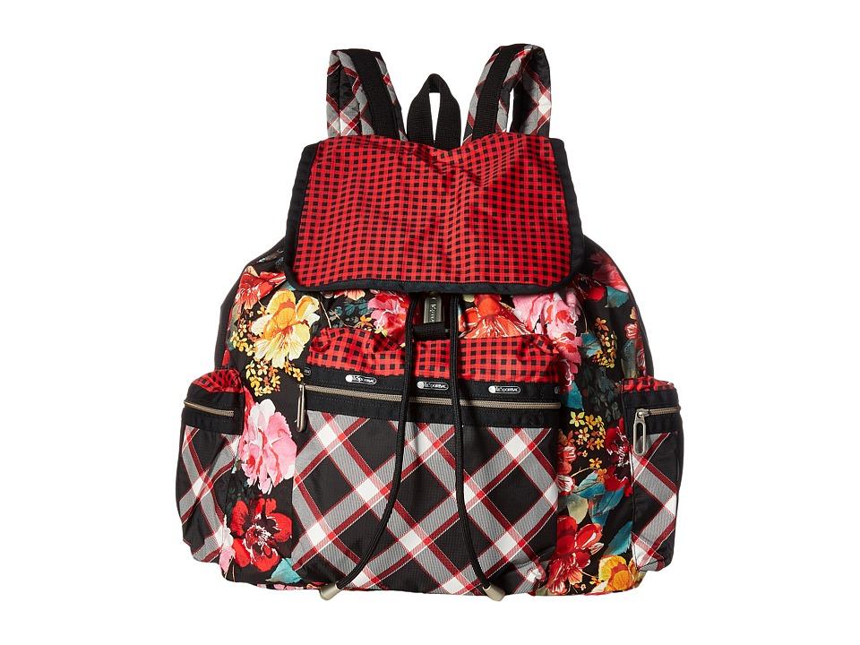 LeSportsac - 3 Zip Voyager (Romance Multi) Bags