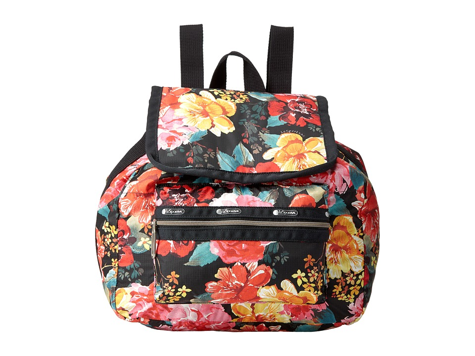 LeSportsac - Mini Voyager (Romantics Black) Handbags