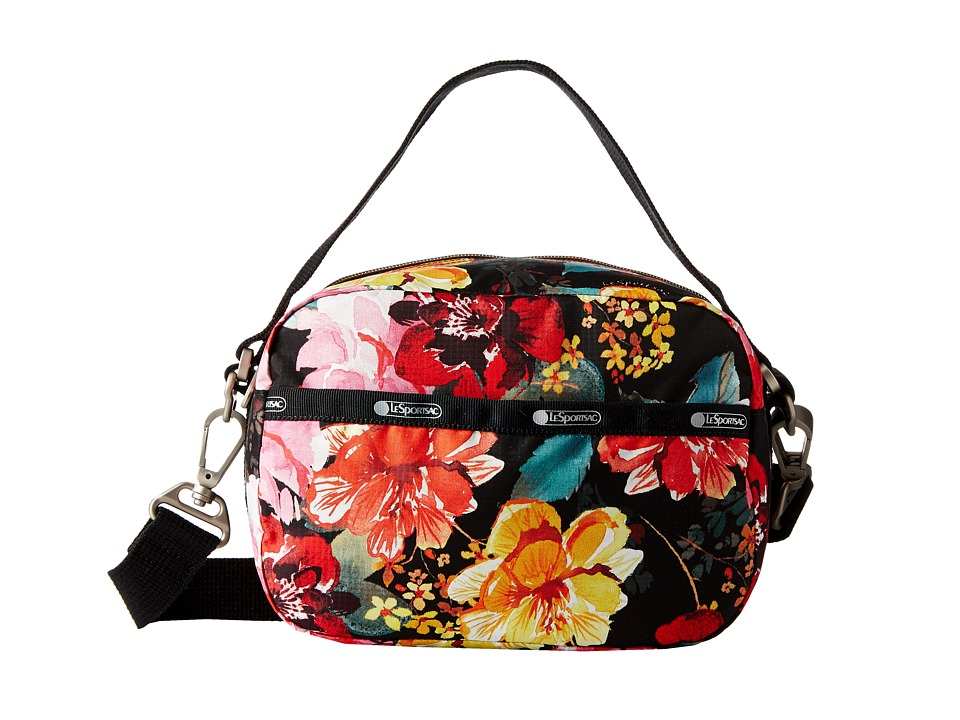 LeSportsac - Cafe Convertible (Romantics Black) Convertible Handbags
