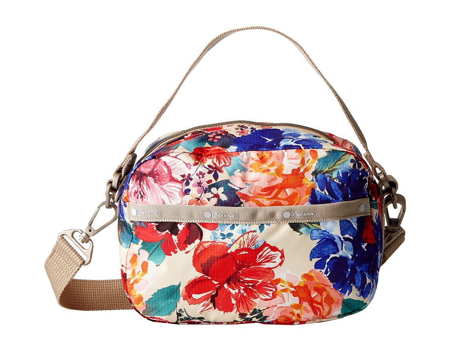 LeSportsac - Cafe Convertible (Romantics Cream) Convertible Handbags
