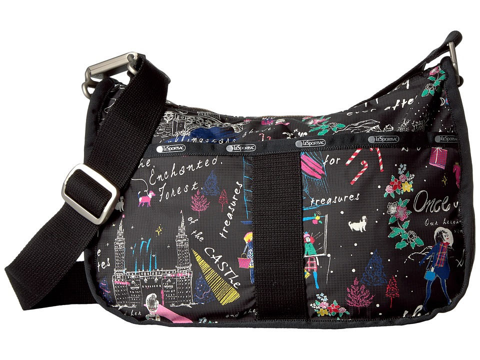LeSportsac - Essential Hobo (Wonderland) Hobo Handbags
