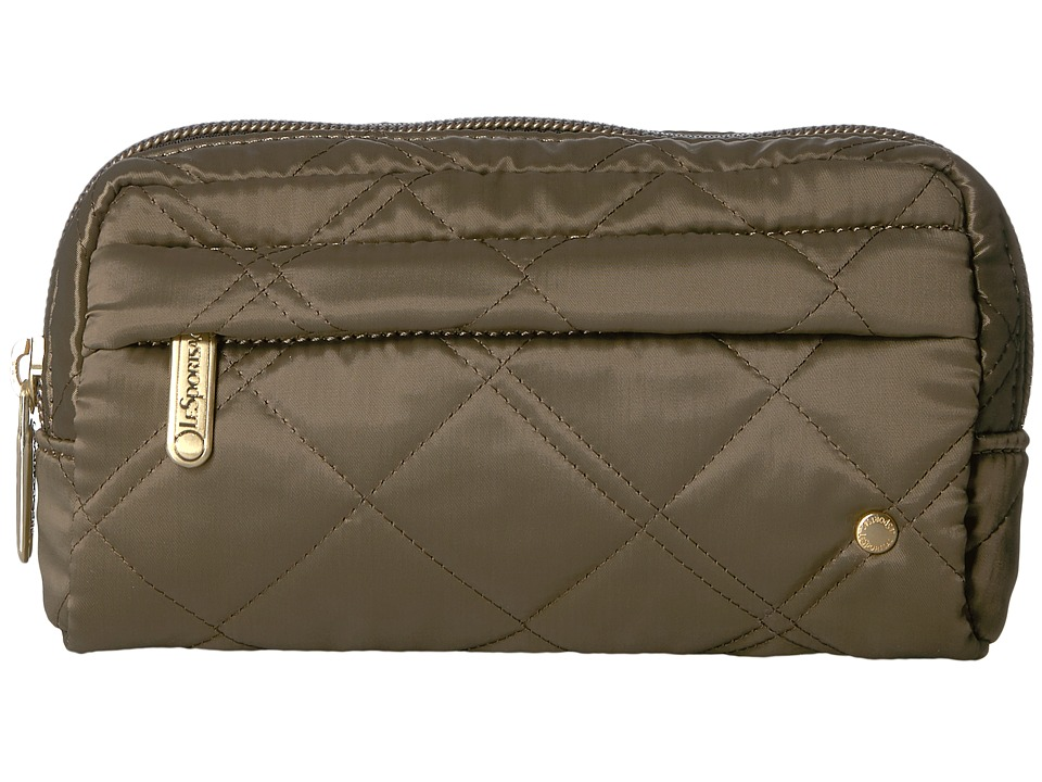 LeSportsac - City Central Cosmetic (Metallic Bronze Quilted) Cosmetic Case