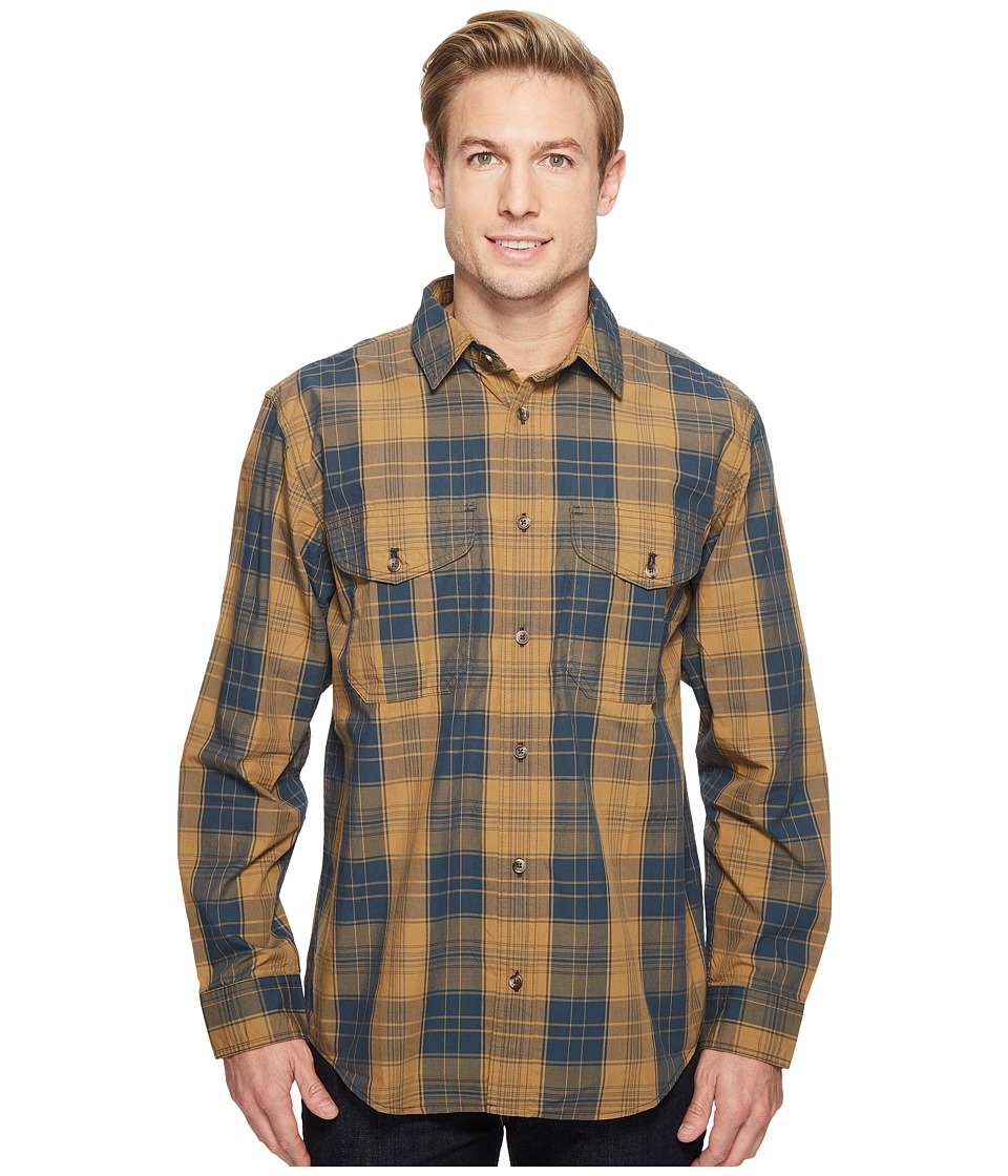 Filson Wildwood Shirt (Bronze/Blue Plaid) Men