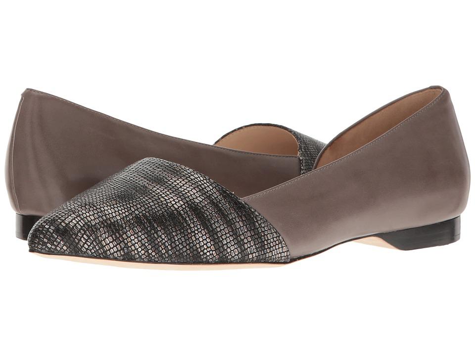 Cole Haan Amalia Skimmer (Gray/Storm Lizard/Stormcloud) Women's Flat Shoes