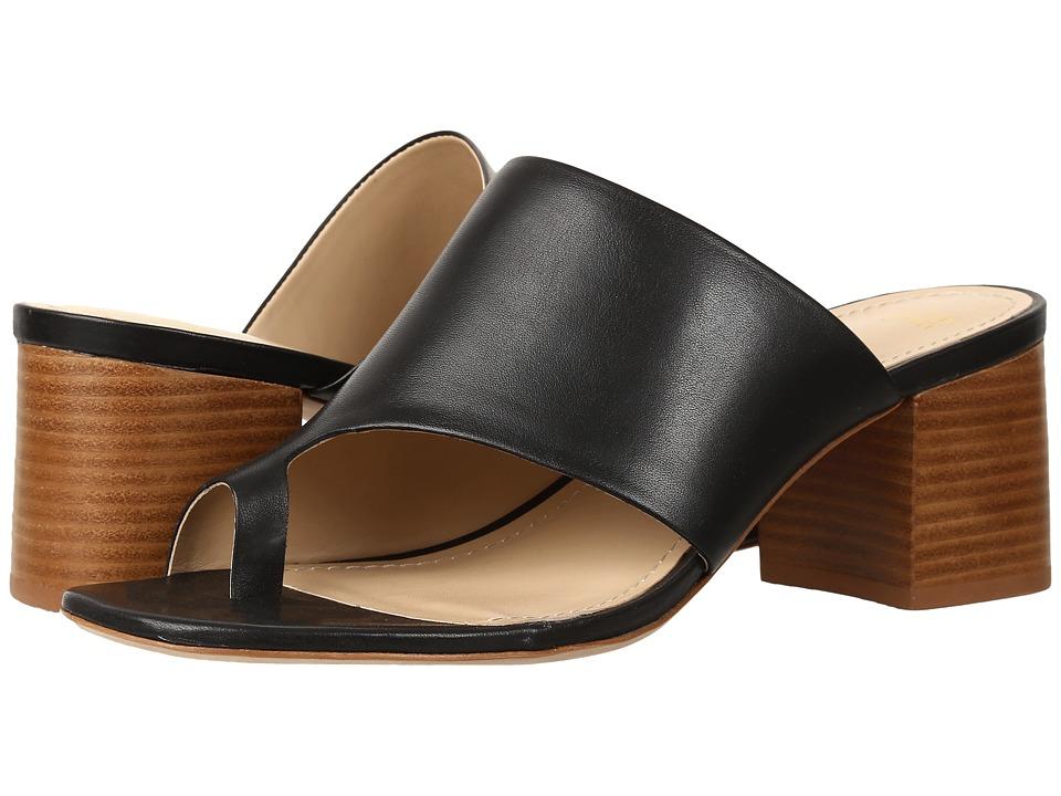 Johnston & Murphy - Kelsey (Black Soft Calfskin) Women's Slide Shoes