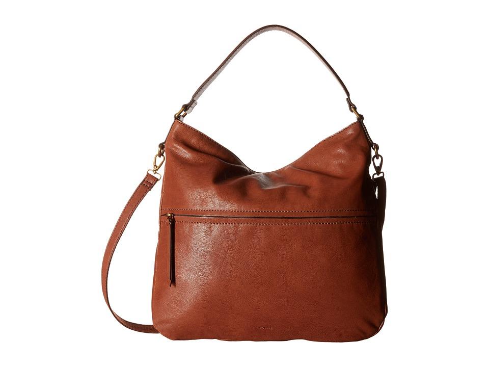 Fossil - Corey Hobo (Brown) Hobo Handbags