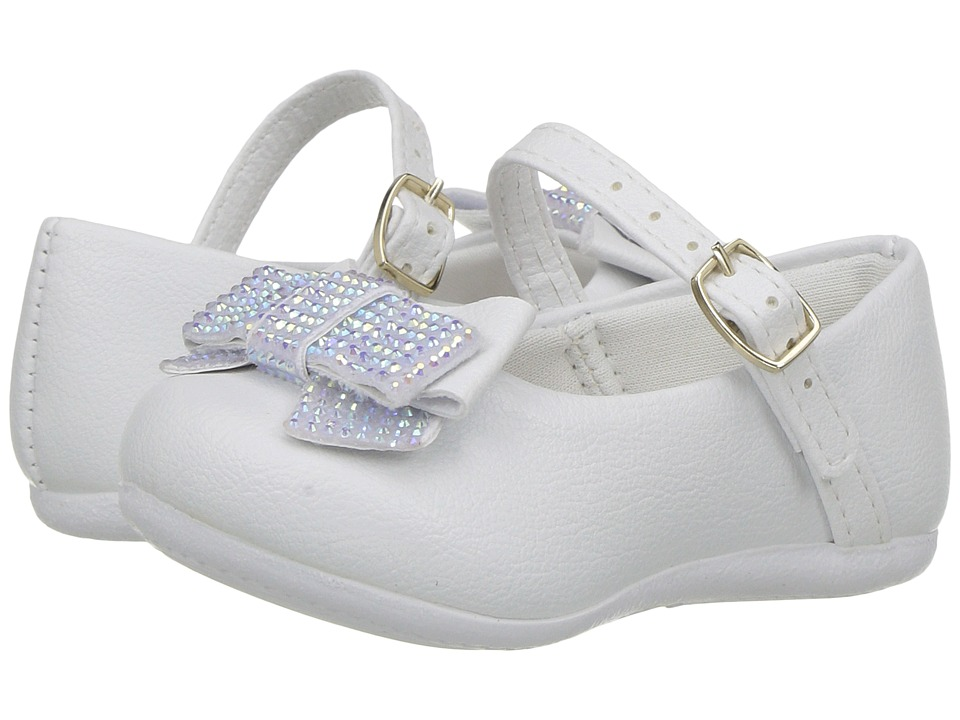 Pampili - Angel 4805 (Infant/Toddler) (White) Girl's Shoes