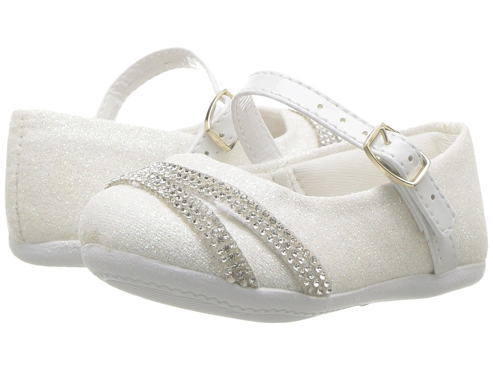 Pampili - Angel 4815 (Infant/Toddler) (White) Girl's Shoes