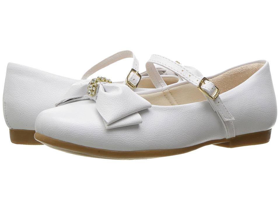 Pampili - Angel 10300 (Toddler/Little Kid/Big Kid) (White) Girl's Shoes