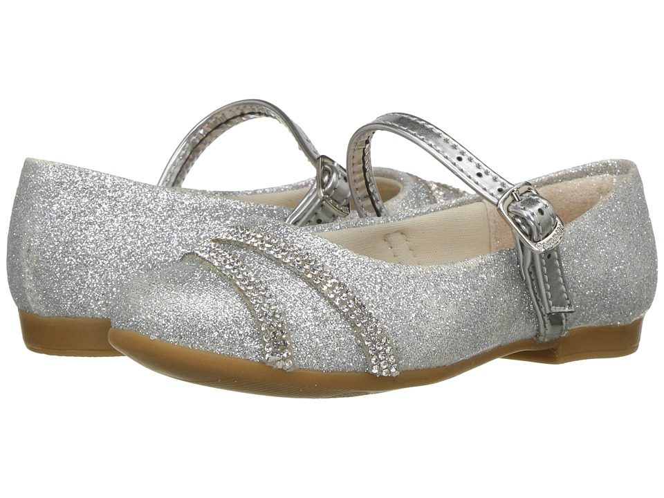 Pampili - Angel 10297 (Toddler/Little Kid/Big Kid) (Silver) Girl's Shoes