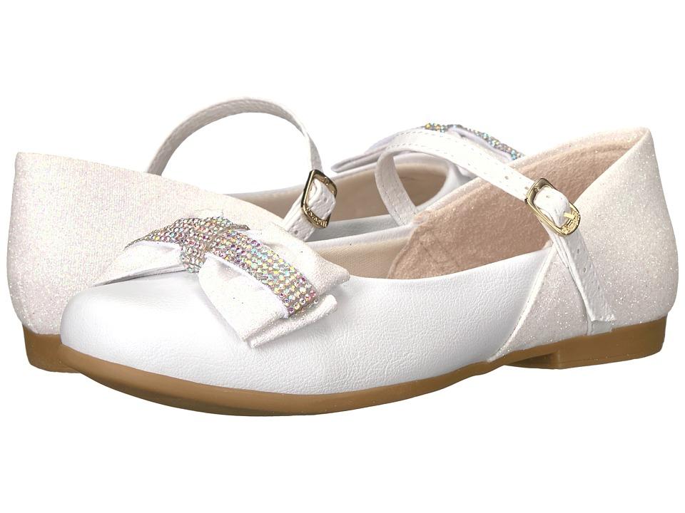 Pampili - Angel 10298 (Toddler/Little Kid/Big Kid) (White) Girl's Shoes