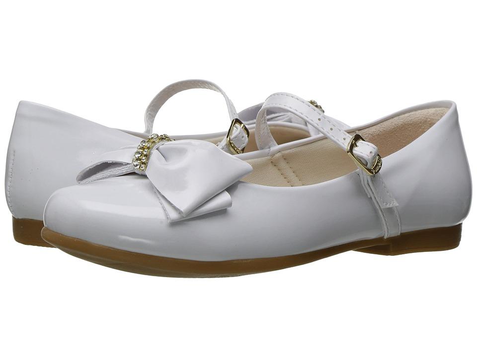 Pampili - Angel 10301 (Toddler/Little Kid/Big Kid) (White) Girl's Shoes