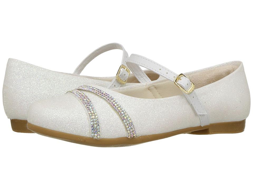 Pampili - Angel 10297 (Toddler/Little Kid/Big Kid) (White) Girl's Shoes