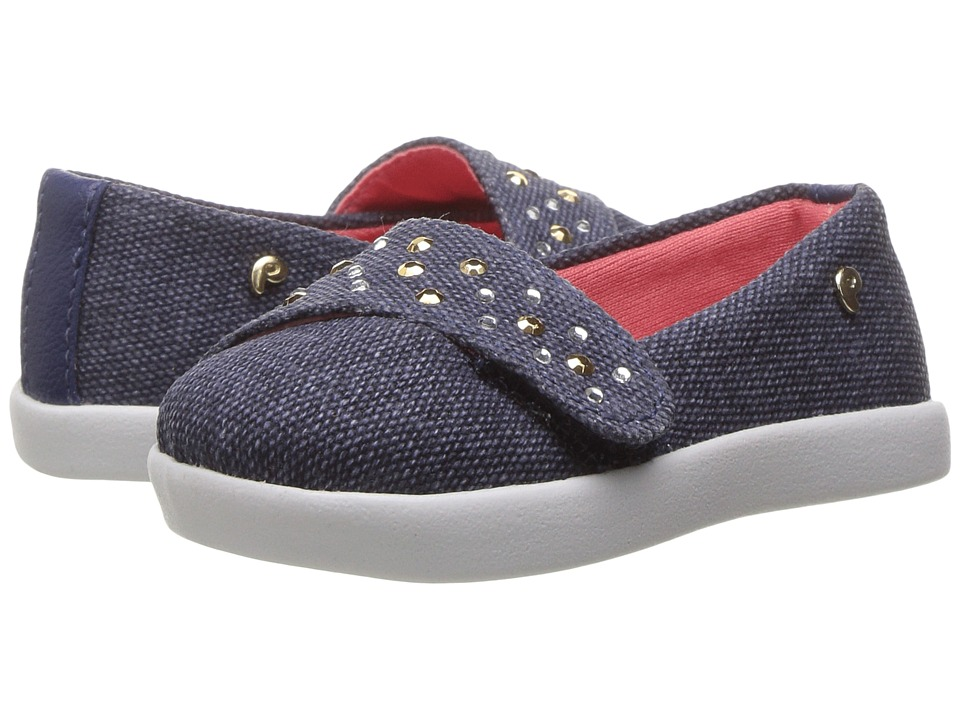 Pampili - Pom Pom 108034 (Infant/Toddler) (Jeans) Girl's Shoes