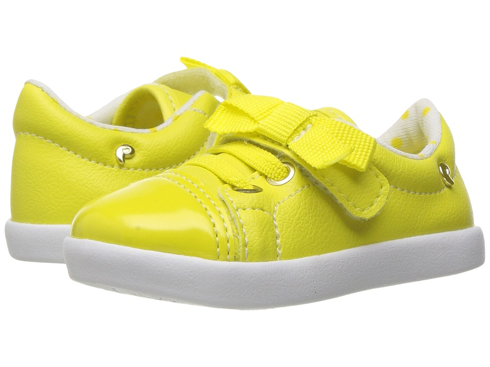 Pampili - Pom Pom 108042 (Infant/Toddler) (Yellow) Girl's Shoes
