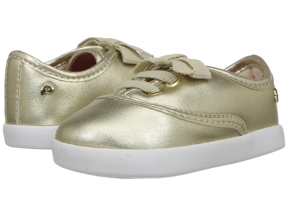 Pampili - Pom Pom 108037 (Infant/Toddler) (Gold) Girl's Shoes