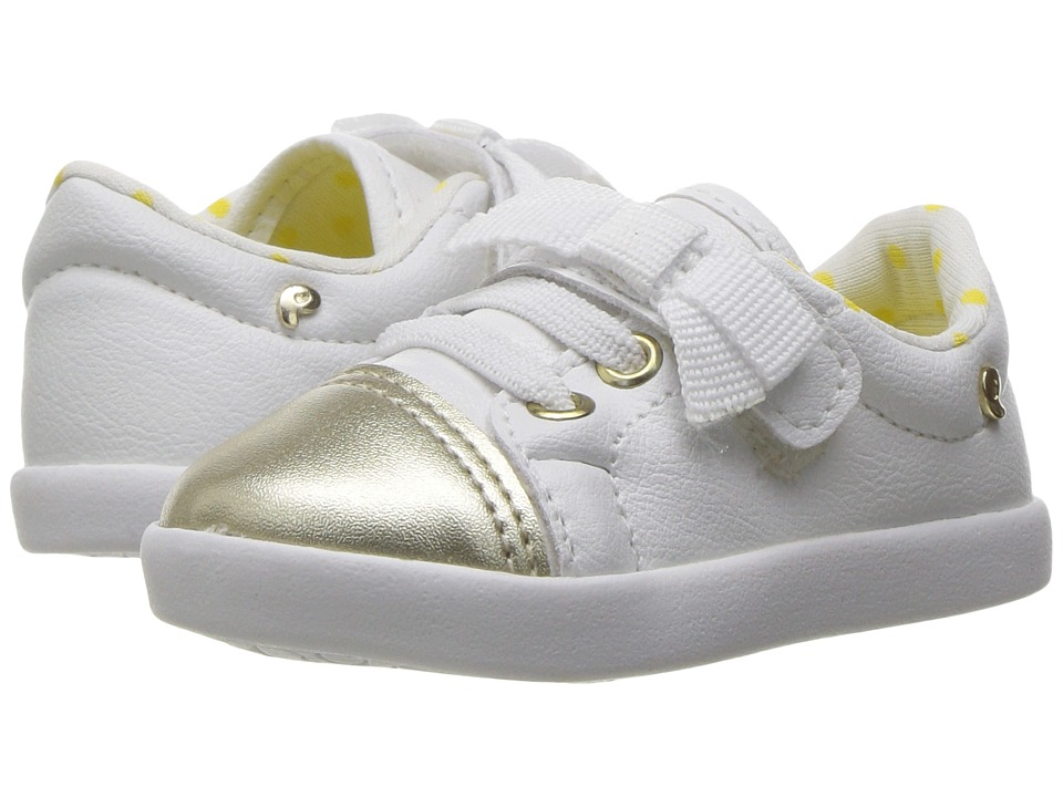 Pampili - Pom Pom 108042 (Infant/Toddler) (White) Girl's Shoes