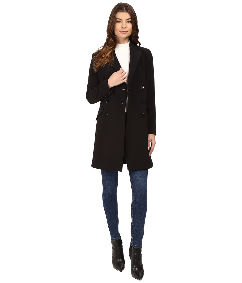 Nicole Miller Double Breasted Jacket/Dress Twofer (Black) Women