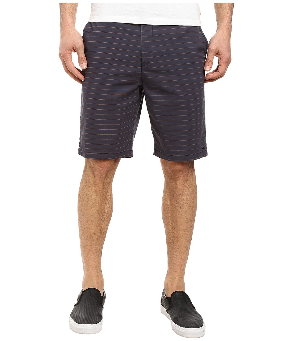 O'Neill - Contact Stretch Stripe Shorts (Navy) Men's Shorts