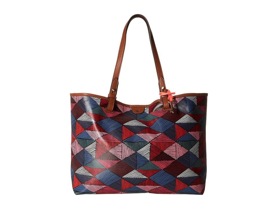 Fossil - Rachel Tote (Pink Multi) Tote Handbags