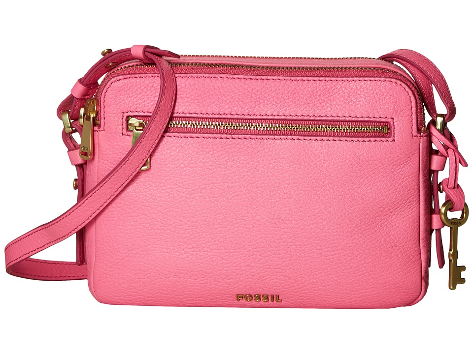 Fossil - Piper Toaster Crossbody (Neon Pink) Cross Body Handbags