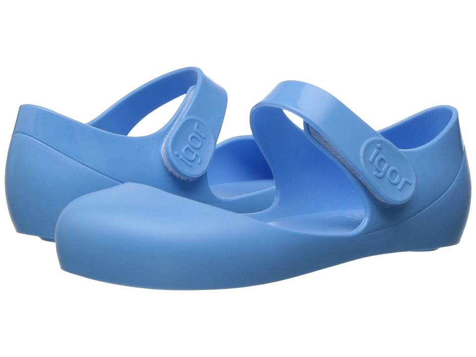 Igor - Mia (Infant/Toddler/Little Kid) (Light Blue) Girl's Shoes