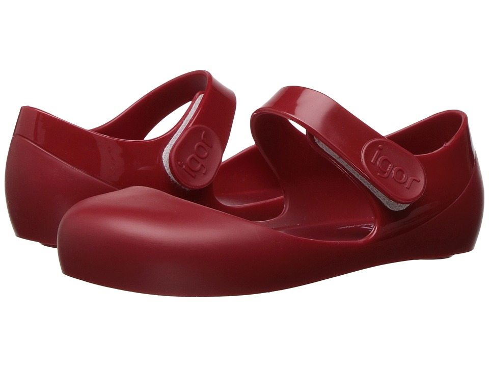 Igor - Mia (Infant/Toddler/Little Kid) (Red) Girl's Shoes